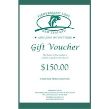 Fishermans' Loft - Gift Voucher - 150.00nzd