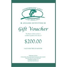 Fishermans' Loft - Gift Voucher - 200.00nzd