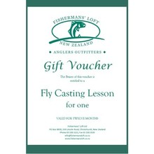 Fishermans' Loft - Gift Voucher - Fly Casting Lesson for One