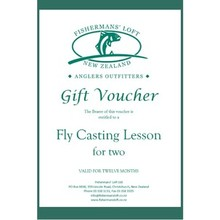 Fishermans' Loft - Gift Voucher - Fly Casting Lesson for Two